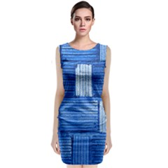 Wall Tile Design Texture Pattern Classic Sleeveless Midi Dress
