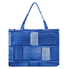 Wall Tile Design Texture Pattern Medium Zipper Tote Bag