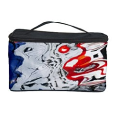 Water Reflection Abstract Blue Cosmetic Storage Case