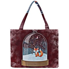 Winter Snow Ball Snow Cold Fun Mini Tote Bag