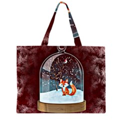 Winter Snow Ball Snow Cold Fun Large Tote Bag