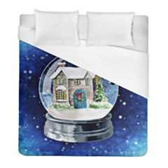Winter Snow Ball Snow Cold Fun Duvet Cover (full/ Double Size)