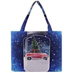 Winter Snow Ball Snow Cold Fun Mini Tote Bag