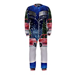 Winter Snow Ball Snow Cold Fun OnePiece Jumpsuit (Kids)
