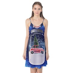 Winter Snow Ball Snow Cold Fun Camis Nightgown