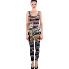 Worker Bees On Honeycomb OnePiece Catsuit