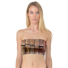 Wood Logs Wooden Background Bandeau Top