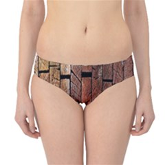 Wood Logs Wooden Background Hipster Bikini Bottoms