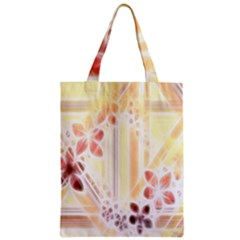 Swirl Flower Curlicue Greeting Card Classic Tote Bag