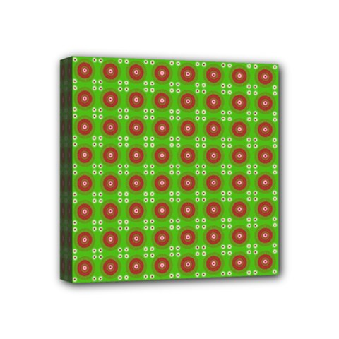 Wrapping Paper Christmas Paper Mini Canvas 4  x 4