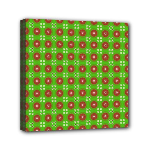 Wrapping Paper Christmas Paper Mini Canvas 6  X 6