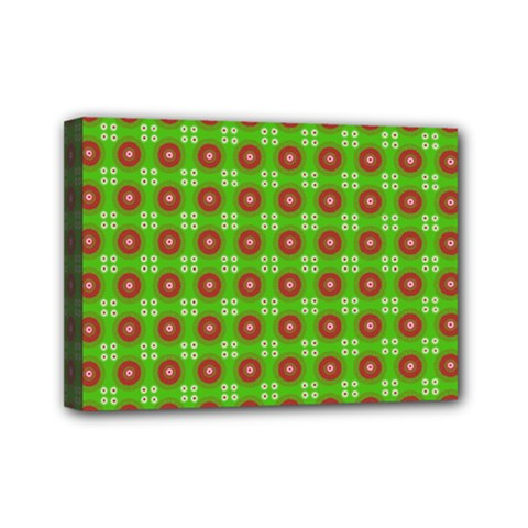 Wrapping Paper Christmas Paper Mini Canvas 7  X 5
