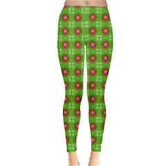 Wrapping Paper Christmas Paper Leggings
