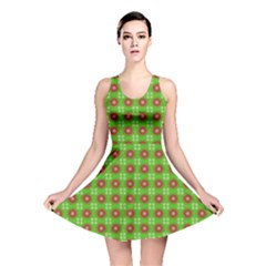 Wrapping Paper Christmas Paper Reversible Skater Dress