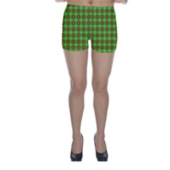 Wrapping Paper Christmas Paper Skinny Shorts