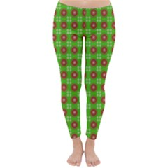 Wrapping Paper Christmas Paper Classic Winter Leggings