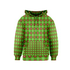 Wrapping Paper Christmas Paper Kids  Zipper Hoodie
