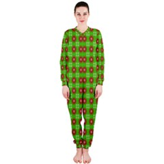 Wrapping Paper Christmas Paper OnePiece Jumpsuit (Ladies)