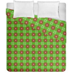 Wrapping Paper Christmas Paper Duvet Cover Double Side (california King Size)