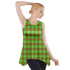 Wrapping Paper Christmas Paper Side Drop Tank Tunic