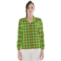 Wrapping Paper Christmas Paper Wind Breaker (Women)