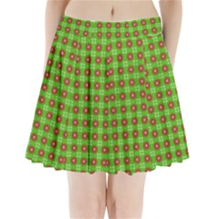Wrapping Paper Christmas Paper Pleated Mini Skirt