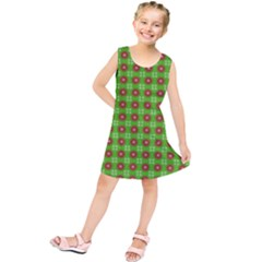 Wrapping Paper Christmas Paper Kids  Tunic Dress