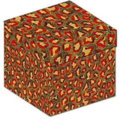 Stylized Background For Scrapbooking Or Other Storage Stool 12