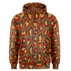 Stylized Background For Scrapbooking Or Other Men s Pullover Hoodie