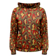 Stylized Background For Scrapbooking Or Other Women s Pullover Hoodie