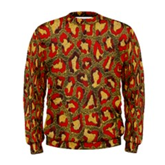 Stylized Background For Scrapbooking Or Other Men s Sweatshirt