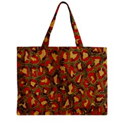 Stylized Background For Scrapbooking Or Other Zipper Mini Tote Bag
