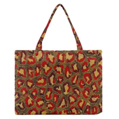 Stylized Background For Scrapbooking Or Other Medium Zipper Tote Bag