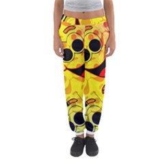 Abstract Background Backdrop Design Women s Jogger Sweatpants