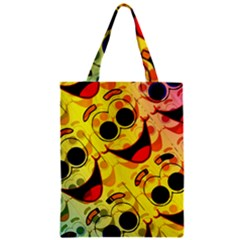 Abstract Background Backdrop Design Zipper Classic Tote Bag