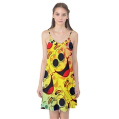Abstract Background Backdrop Design Camis Nightgown