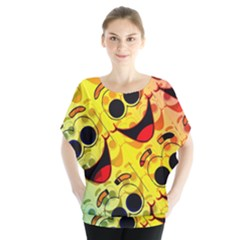 Abstract Background Backdrop Design Blouse