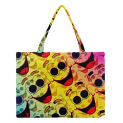 Abstract Background Backdrop Design Medium Tote Bag