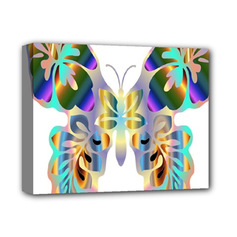 Abstract Animal Art Butterfly Deluxe Canvas 14  X 11