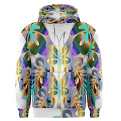 Abstract Animal Art Butterfly Men s Pullover Hoodie