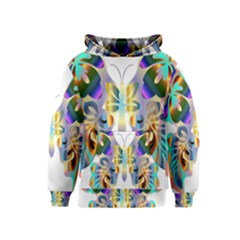 Abstract Animal Art Butterfly Kids  Pullover Hoodie