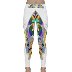 Abstract Animal Art Butterfly Classic Yoga Leggings