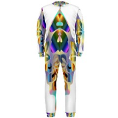 Abstract Animal Art Butterfly Onepiece Jumpsuit (men)
