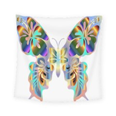 Abstract Animal Art Butterfly Square Tapestry (small)