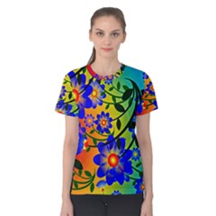 Abstract Background Backdrop Design Women s Cotton Tee