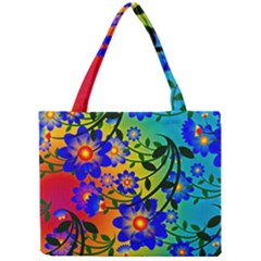 Abstract Background Backdrop Design Mini Tote Bag