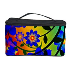 Abstract Background Backdrop Design Cosmetic Storage Case