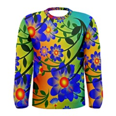 Abstract Background Backdrop Design Men s Long Sleeve Tee
