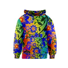 Abstract Background Backdrop Design Kids  Pullover Hoodie