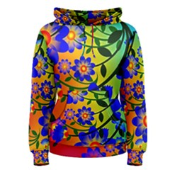 Abstract Background Backdrop Design Women s Pullover Hoodie